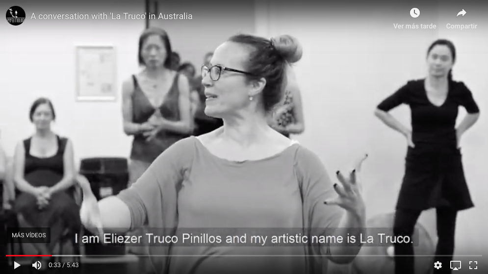 Workshop de La Truco en Australia